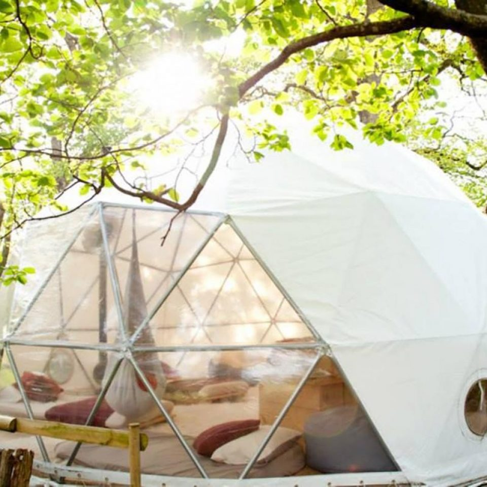 Glamping holidays offer the best of both worlds. (Photo: BookaGlamping.com)