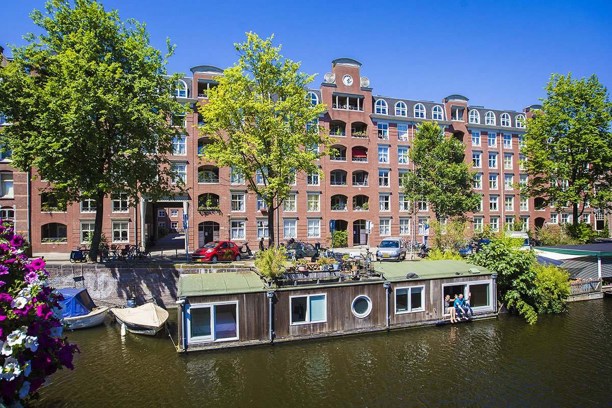 Houseboat rental Amsterdam Oud West